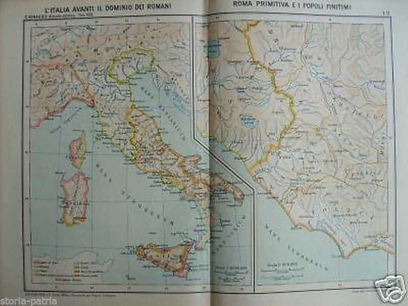 Cartina Abruzzo Umbria.Italia Preromana Lazio Anzio Umbria Abruzzo Ostia Ardea Mappa Geografica Locchi