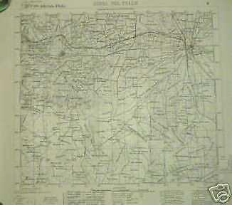 Cartina Militare Piemonte.Gioia Del Colle Santeramo Bari Puglia Carta Topografica